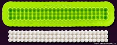 Small image for Marvelous Molds Classic Pearl Border