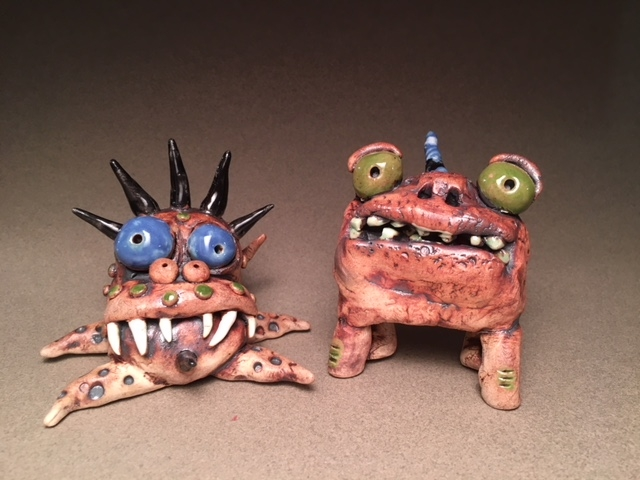 James DeRosso Monsters