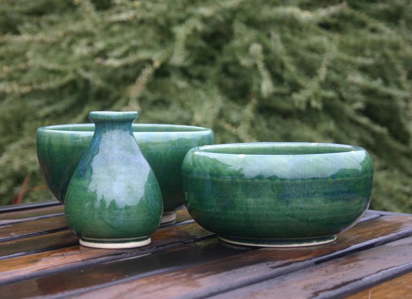 Now Showing In The Gallery At Georgies Portland Store Click Image To See Larger View On Images Shane A Lifelong Oregonian Started Making Pottery So He Could Donate Simple Bowls For Fundraising Events His