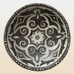 Small image of sgraffito bowl by Anya Jackson.