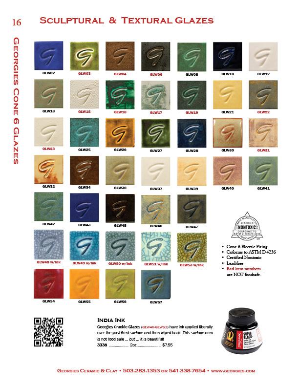 Georgies Catalog Page