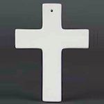 Small image of DB2785 Bisque Traditional Cross.