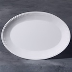 Small image of stoneware bisque oval platter
