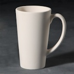 Small image of stoneware latte cup