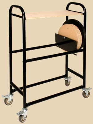 Brent Batmobile storage cart for wheel bats.