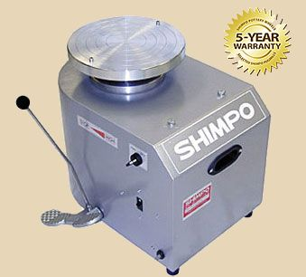 Shimpo RK Whisper electric potters wheel
