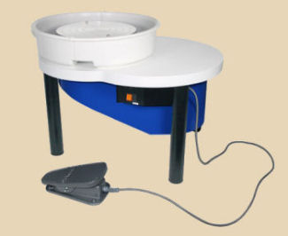 Shimpo VL Lite electric potters wheel.