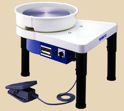 Shimpo VL Whisper electric potters wheel.