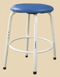 Shimpo Potters Stool with individually adjustable legs.