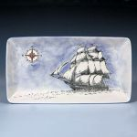 Small image of silkscreened ship plate