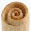 Small image for MKM Swirl 1.5 cm wood stamp