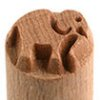 Small image for MKM Elephant 1.5 cm wood stamp