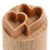 Small image for MKM Double Heart 1.5 cm wood stamp